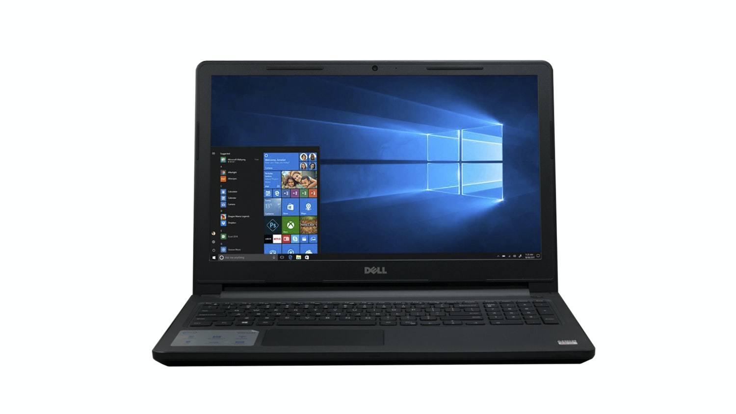 Dell Inspiron I3565-A125BLK-PUS Front