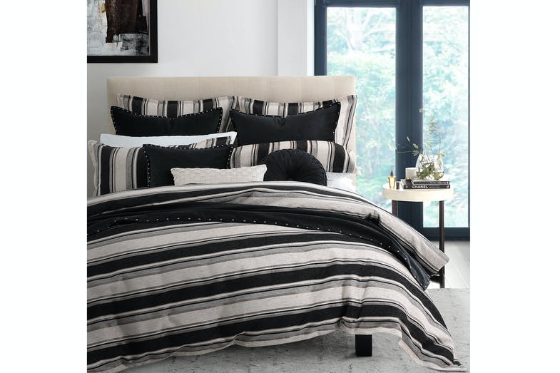 Forbes Smoke Duvet Cover Set by Private Collection