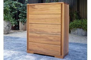 Kauri Grove Tallboy by Ezirest Furniture