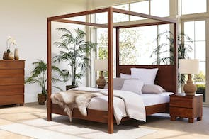 Riverwood 4 Poster Queen Bed Frame by Sorensen Furniture