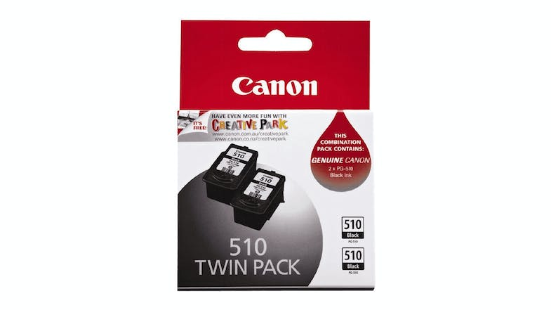 Canon PG-510 Ink Cartridge - Twin Pack