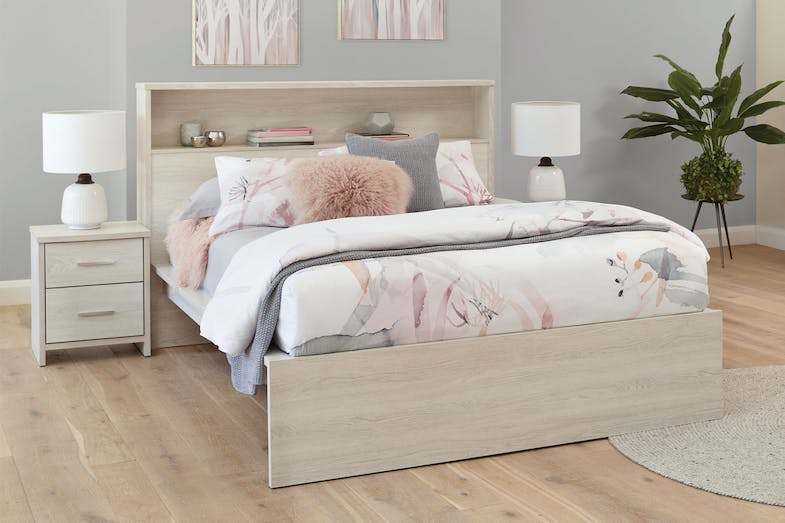 Atlas Queen Bed Frame with Storage by Platform 10