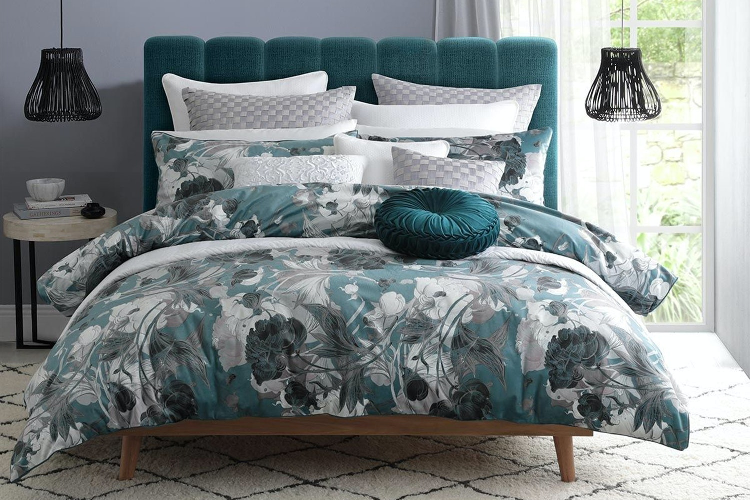 Cyra Emerald Duvet Cover Set By Private Collection Harvey Norman New Zealand