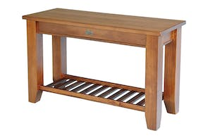 Ferngrove Hall Table with Rack by Coastwood Furniture