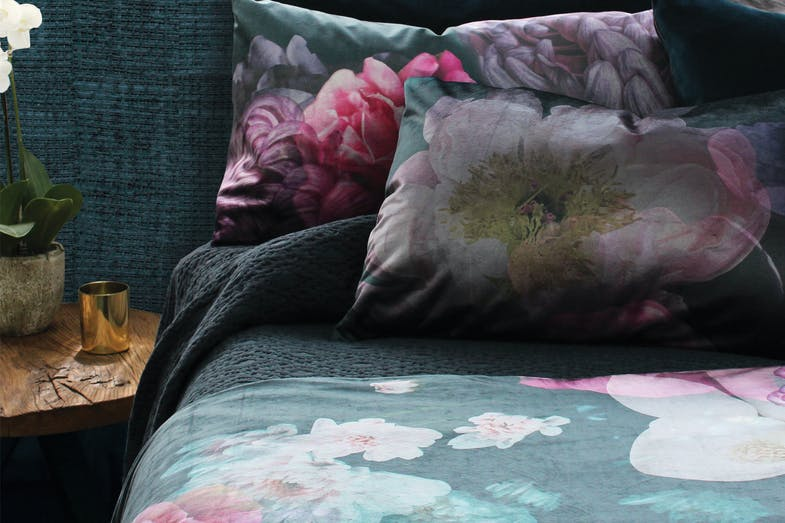 Moody Floral Duvet Cover Set by Seneca