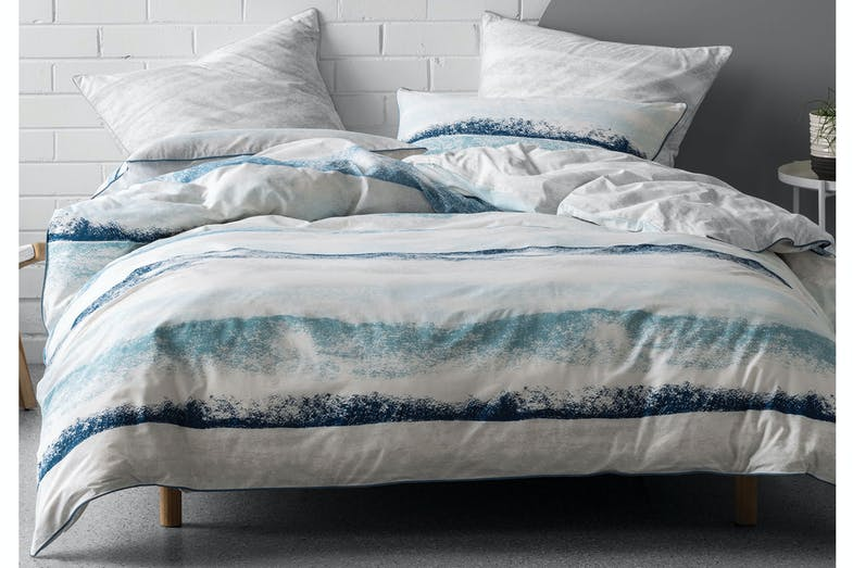 Terrain Blue Duvet Cover Set by Nu Edition