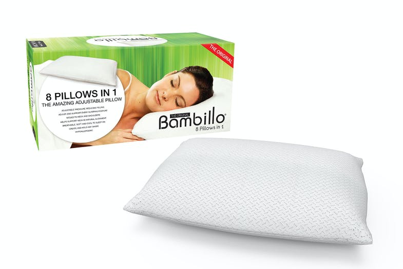 The Original Bambillo 8-in-1 Pillow