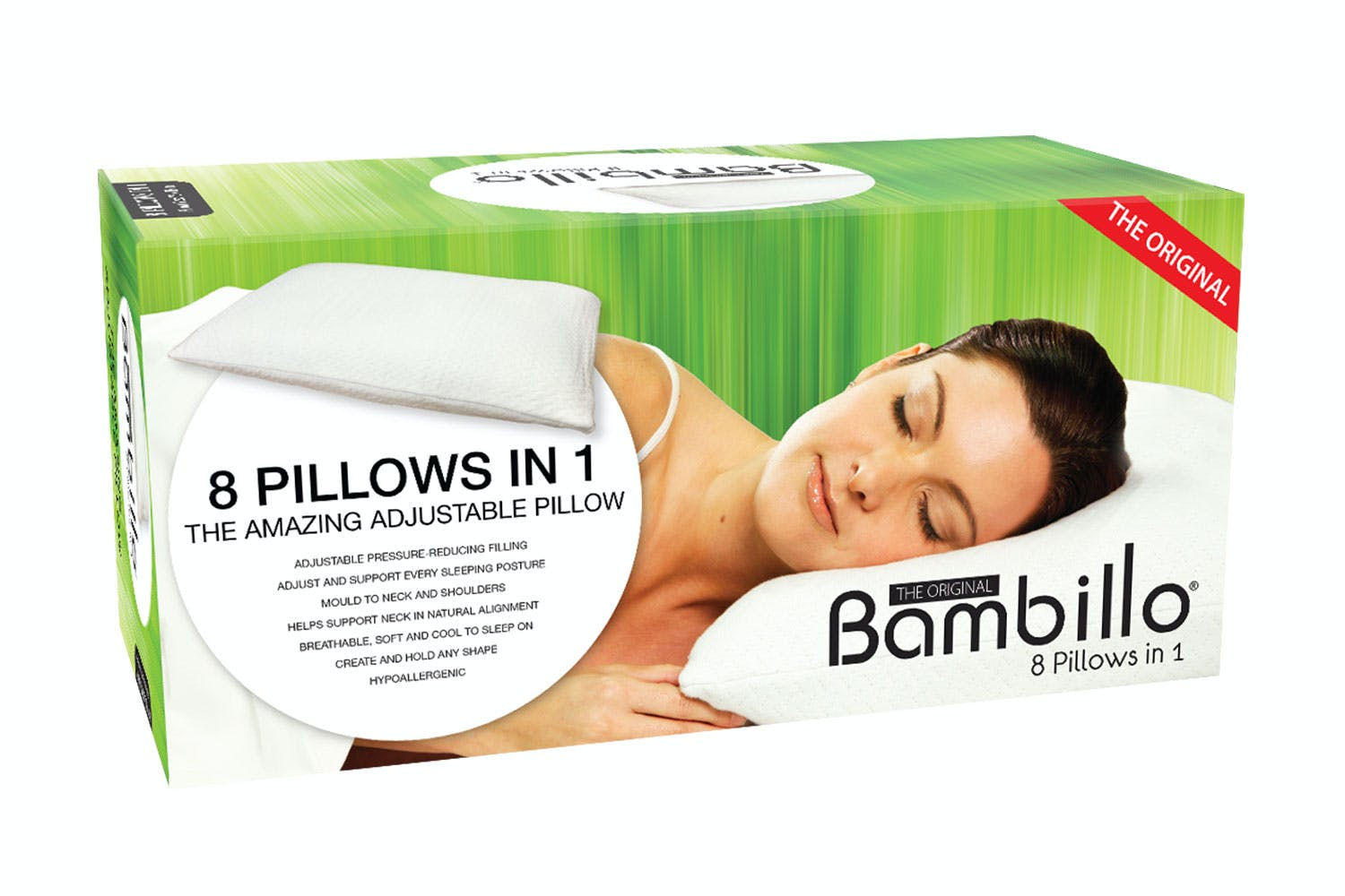 Image of The Original Bambillo 8-in-1 Pillow