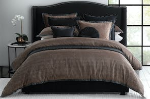 Marquis Copper Duvet Cover Set by Private Collection