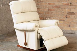 Rialto La-Z-Boy® Leather Recliner Chair by Morgan Furniture