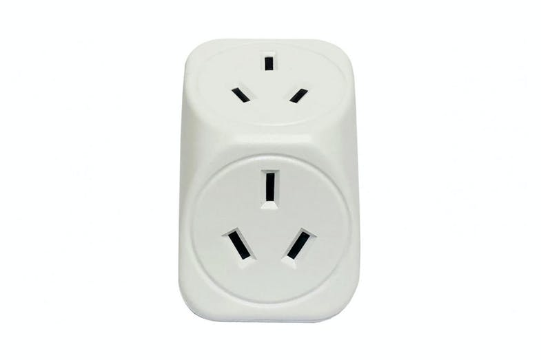 Vanco Double Power Adaptor