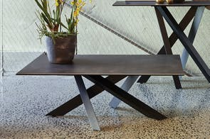 Alumina Coffee Table by Debonaire Furniture