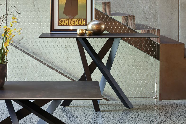 Alumina Console Table by Debonaire Furniture