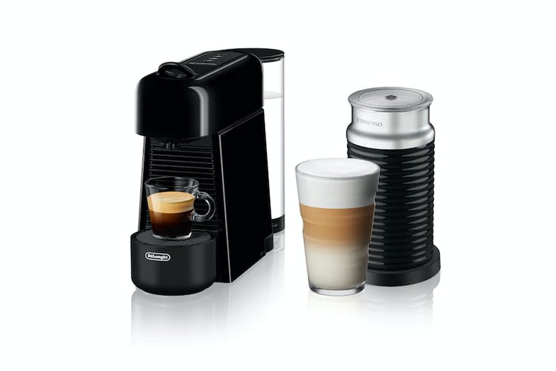"Nespresso DeLonghi ""Essenza Plus"" Espresso Machine - Black"