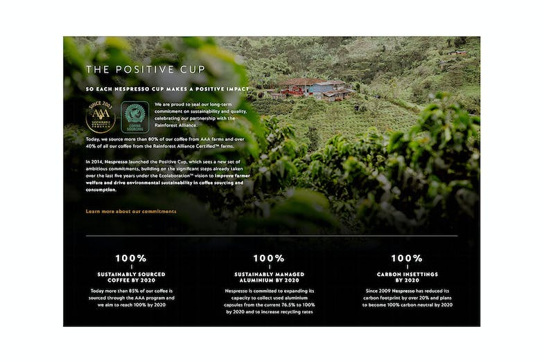 Nespresso Sustainability
