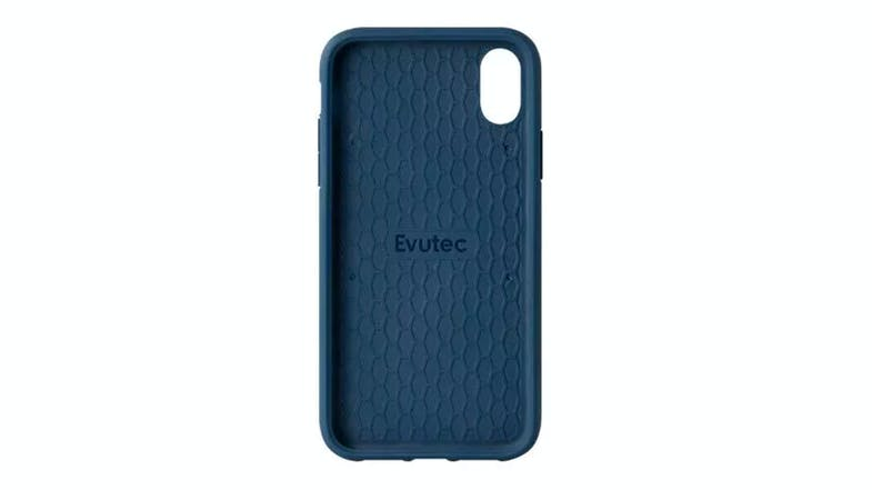 Evutec Northill Case for iPhone XS - Blue/Saddle