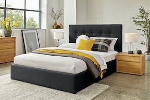 Hudson Queen Bed Frame by Nero Furniture