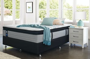 Mason Plush Californian King Bed by Sealy Posturepedic