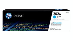 HP 202A Laserjet Toner Cartridge Cyan