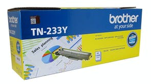 Brother TN233Y Laser Toner Cartridge - Yellow