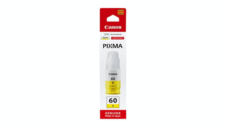 Canon GI-60 Pixma Ink Bottle - Yellow