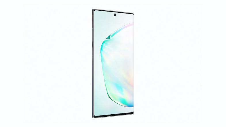 Samsung Galaxy Note10+ Aura Glow - Front Angle