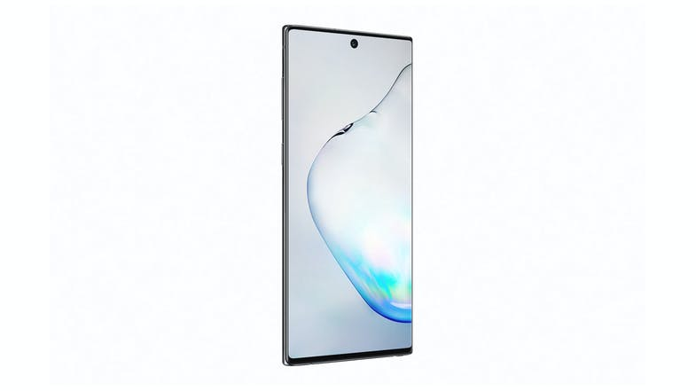 Samsung Galaxy Note10 Aura Black - Front Angle