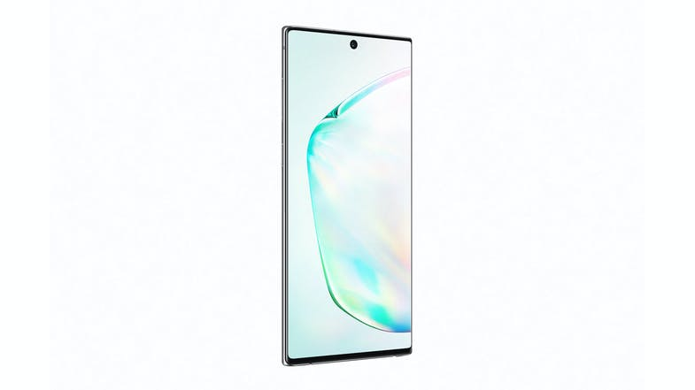 Samsung Galaxy Note10 Aura Glow - Front Angle
