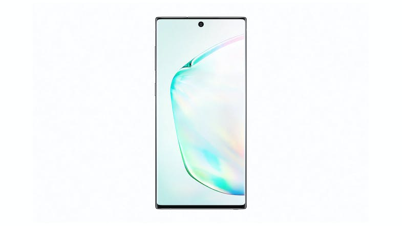 Samsung Galaxy Note10 Aura Glow - Front without Pen