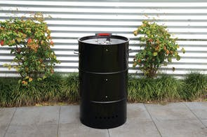 Stack Drum Charcoal Smoker By Charmate