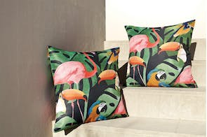 Birds Square Cushion