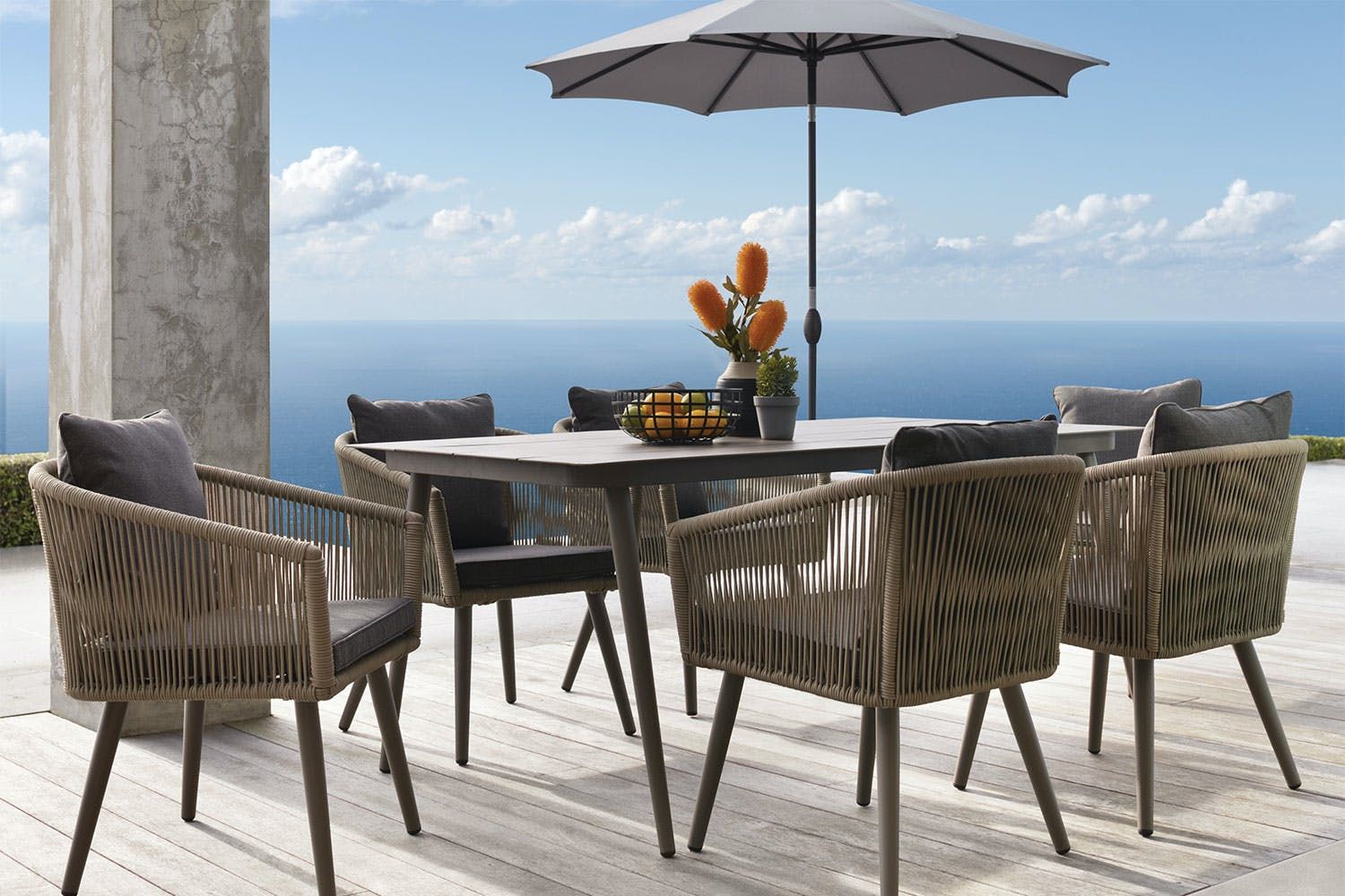 Herman 7 Piece Outdoor Dining Setting