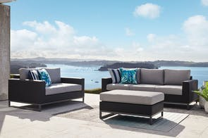 Pagani 3 Piece Outdoor Lounge Setting