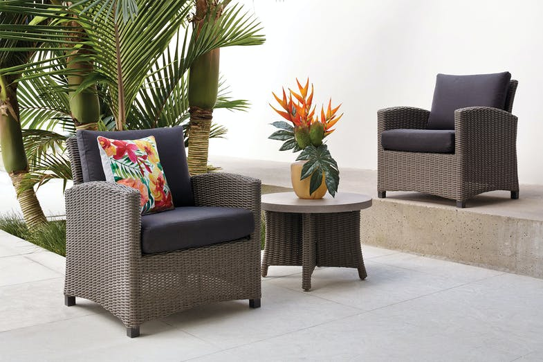 Suva 3 Piece Outdoor Setting