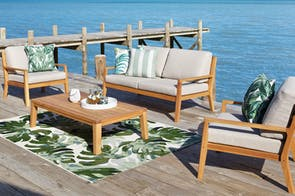 Westin 4 Piece Outdoor Lounge Setting