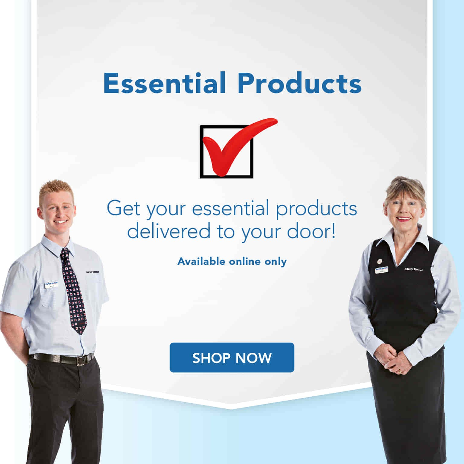 Essential Products - Delivered to Your Door