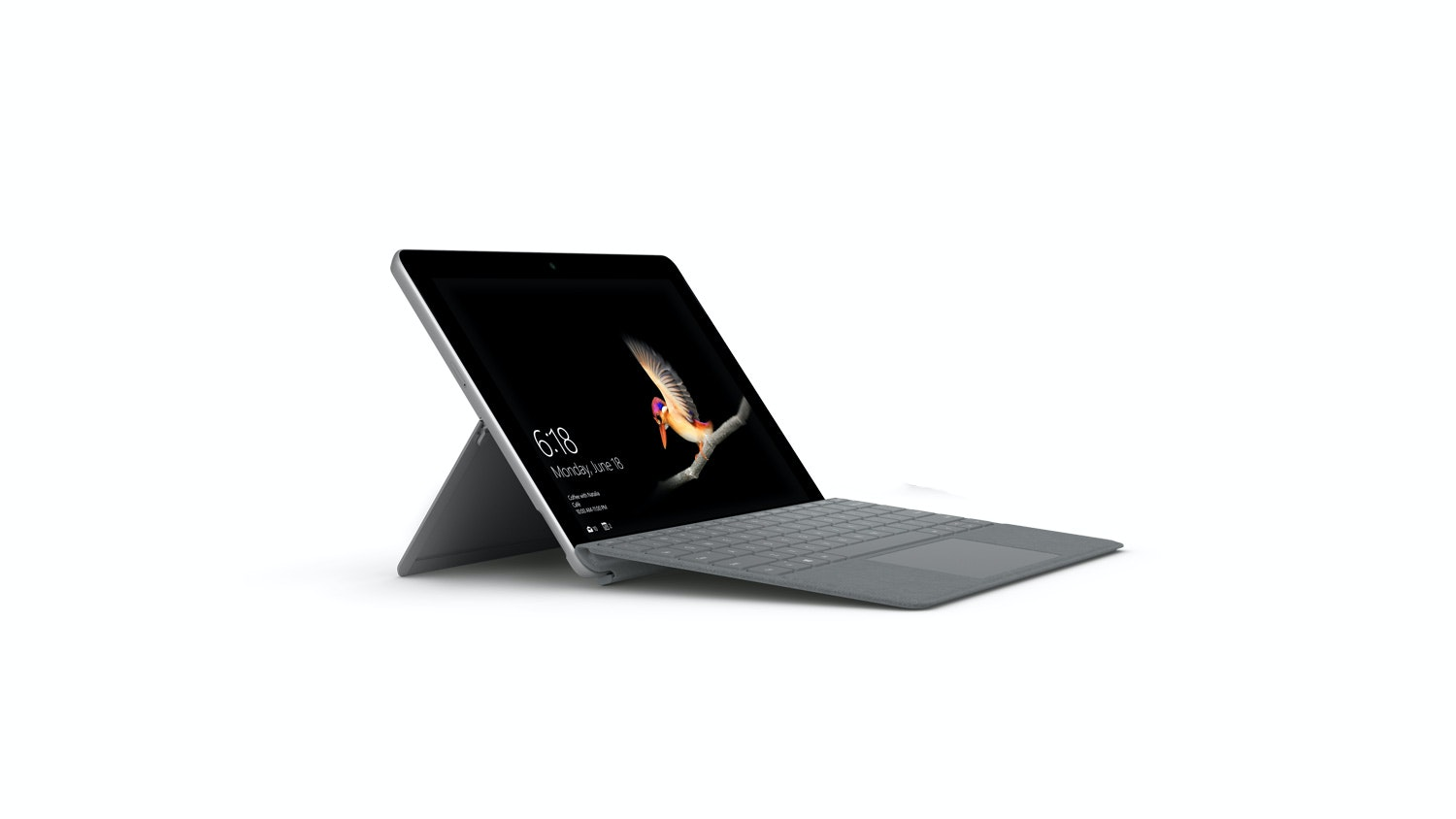 Surface Go with Platinum Type Cover